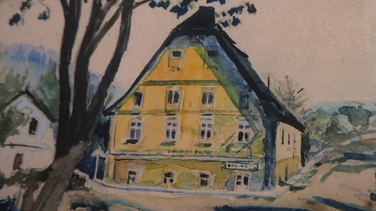 Bytový dům a muzeum – Hronov, Stará papírna