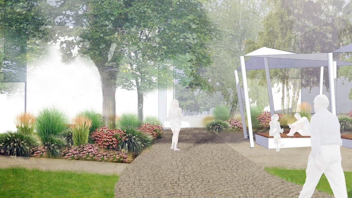 Park Březinky vNovém Městě nad Metují