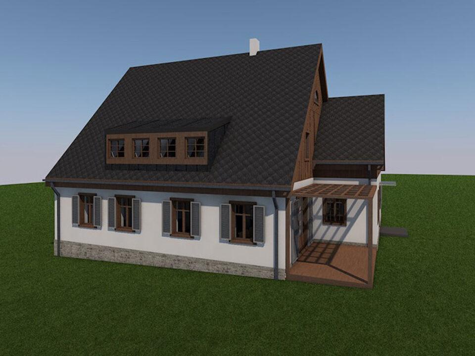 Rodinný dům ve Vysoké Srbské